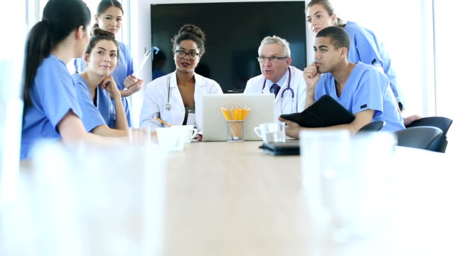 medical team meeting .