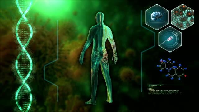 medicinskt teknikkoncept - tillverkat objekt bildbanksvideor och videomaterial från bakom kulisserna