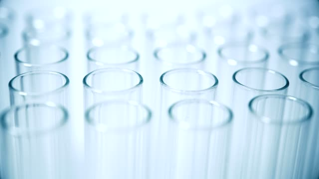 medical test tubes - biochemistry stock videos & royalty-free footage