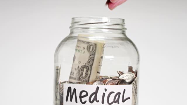 medical - financial bill stock videos & royalty-free footage