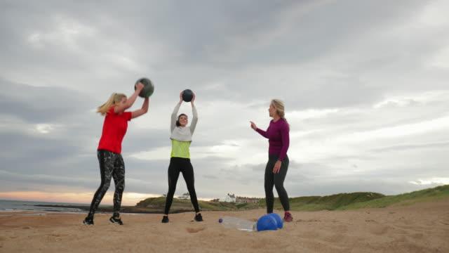Medicine Ball Beach Workout