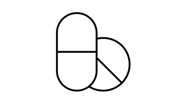 Médecine et de sécurité Simple animé icônes de soins