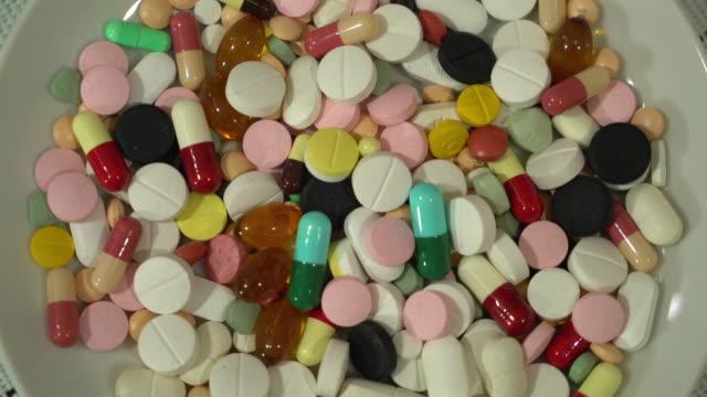 medicine in plate