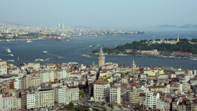 Medieval Galata Tower In Istanbul