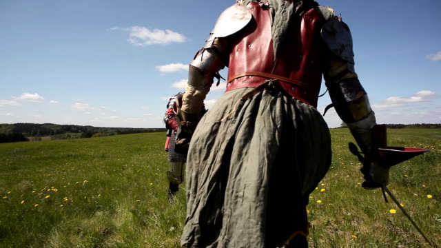 medieval knights - människoarm bildbanksvideor och videomaterial från bakom kulisserna