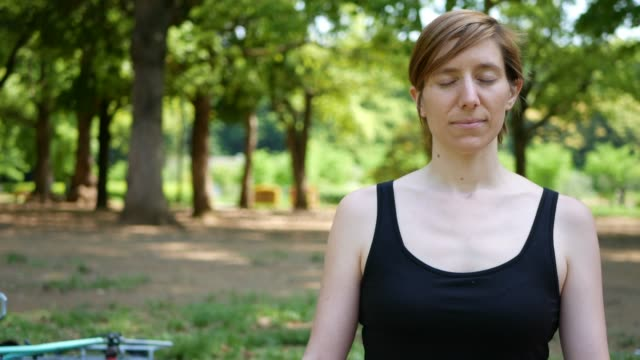 meditation and mental wellness - ethnicity stock videos & royalty-free footage