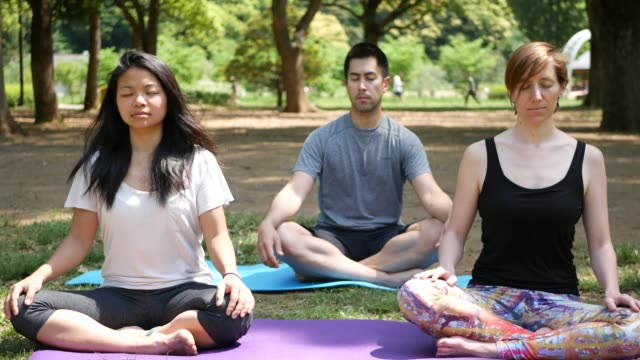meditation and mental wellness - mindfulness stock videos and b-roll footage