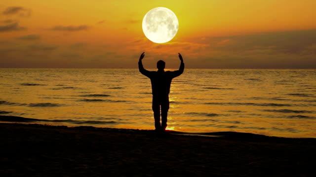 meditation at the moon