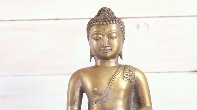 meditation statue - new age stock videos & royalty-free footage