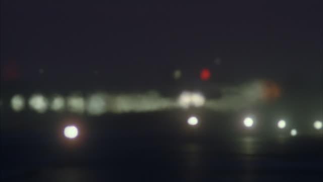 medium angle of runway of air force base or military base.