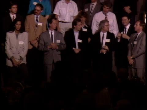 medium close up - 61st annual academy awards stock videos & royalty-free footage