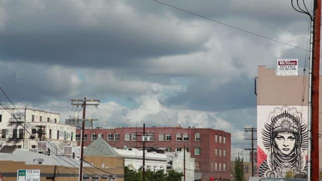 medium shot of a los angeles neighborhood - ward stock videos & royalty-free footage