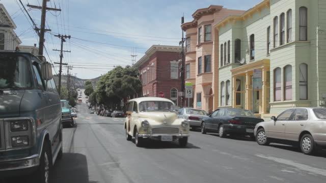 Medium Shot of a neighborhood in San Francisco