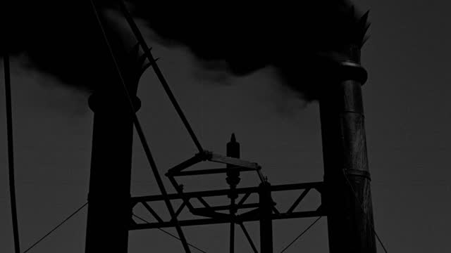 medium shot of smoke and steam blowing from smokestack and whistle of steamboat - 50 seconds or greater stock videos & royalty-free footage