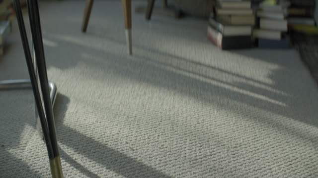 medium shot of sunlight on carpet - midday stock videos & royalty-free footage