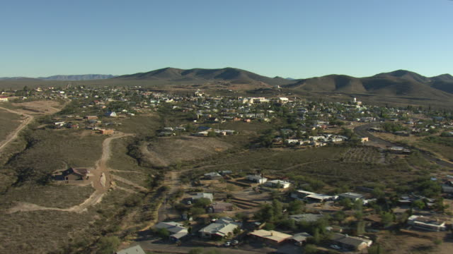 medium shot of the town of tombstone in arizona - tombstone stock videos & royalty-free footage