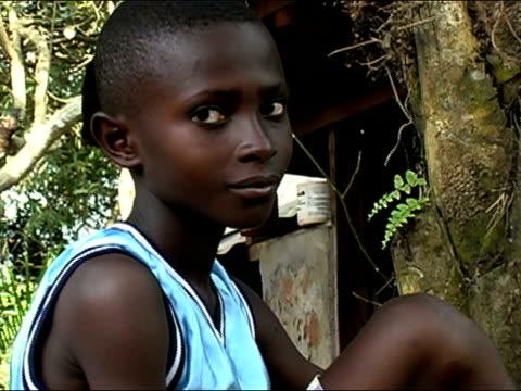 Medium shot portrait boy/ Ghana