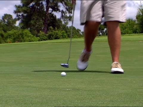 vídeos y material grabado en eventos de stock de medium - bandera de golf
