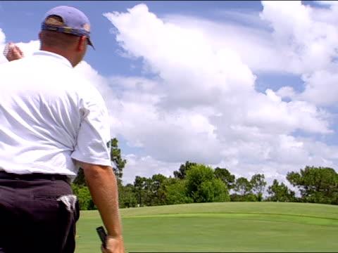 medium - golf flag stock videos and b-roll footage
