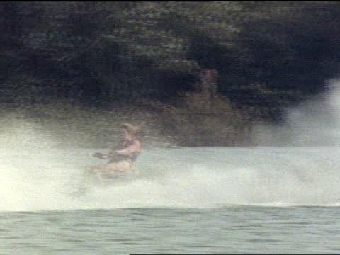 medium - waterskiing stock videos & royalty-free footage