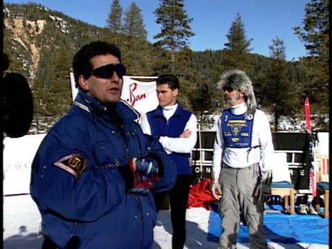 vídeos de stock e filmes b-roll de medium - bastão de esqui
