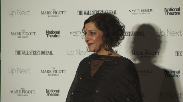 meera syal at up next gala on march 05, 2019 in london, united kingdom. - meera syal stock videos & royalty-free footage