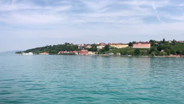 meersburg at bodensee, germany. - baden wurttemberg stock videos and b-roll footage