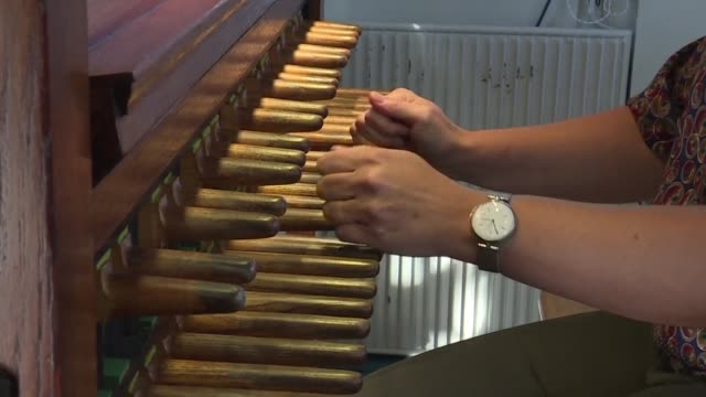 meet malgosia fiebig the city of utrecht's first woman carillonneur who is on a mission to make the centuries old instrument more accessible by... - utrecht stock videos & royalty-free footage