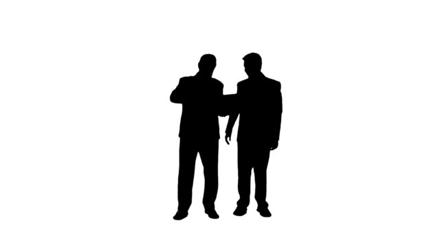 meeting business people - plain background stock videos & royalty-free footage