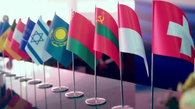 各国代表会議 - 連邦議会議員点の映像素材/bロール