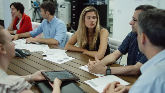 meeting within a meeting - conference table stock videos & royalty-free footage