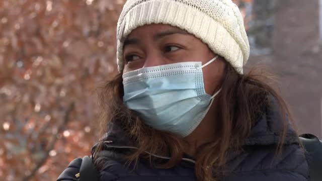 meets with single mothers bearing the brunt of economic hardship due to the pandemic: when the pandemic hit, 45 year old marisol gonzales, an... - masseur stock videos & royalty-free footage