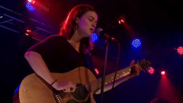 meg myers performs 'morning after' live on the jbtv stage - the morning after stock videos & royalty-free footage