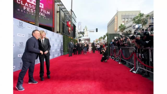 Meg Ryan and Billy Crystal attend The 30th Anniversary Screening of 'When Harry Met Sally' Opening Night at the 2019 10th Annual TCM Classic Film...