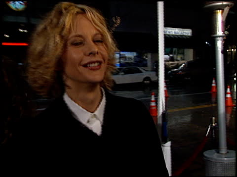meg ryan at the 'hanging up' premiere on february 16, 2000. - hanging up stock videos & royalty-free footage