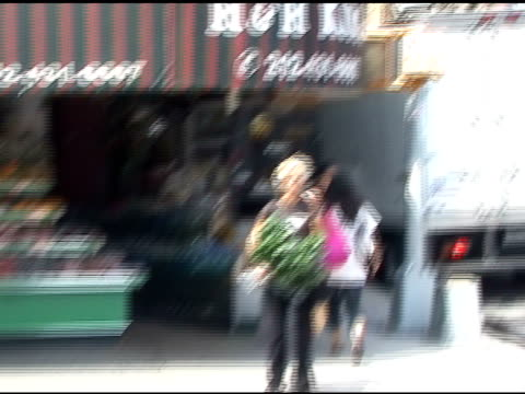 Meg Ryan makes her way down the street in Soho in New York 08/31/11