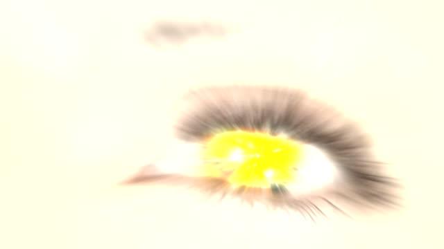 mega explosion in the eye. hd - destruction stock videos & royalty-free footage