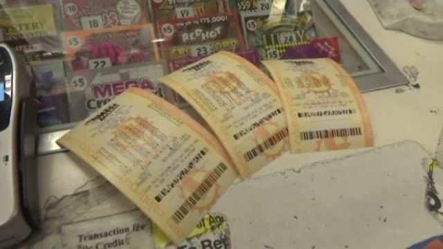 kswb mega millions lottery - 宝くじ点の映像素材/bロール