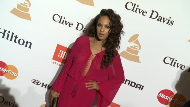 stockvideo's en b-roll-footage met megalyn echikunwoke at the 2016 pregrammy gala and salute to industry icons honoring irving azoff at the beverly hilton hotel on february 14 2016 in... - irving azoff