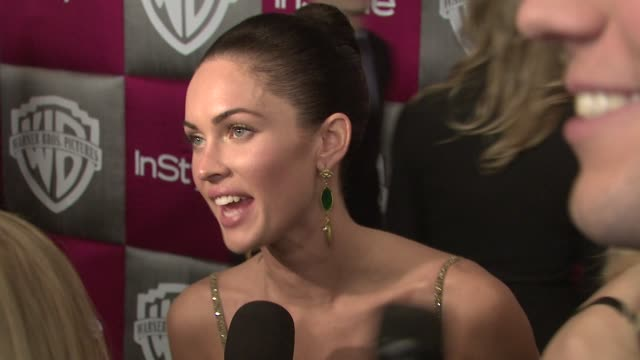 megan fox at the instyle 2009 golden globes after party part 4 at los angeles ca - megan fox stock videos and b-roll footage