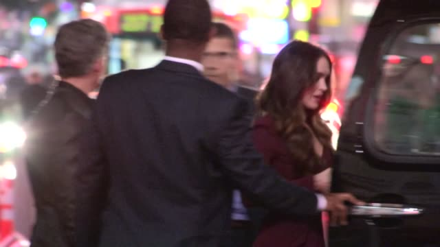 megan fox departs this is 40 premiere in hollywood 12/12/12 - megan fox stock videos and b-roll footage