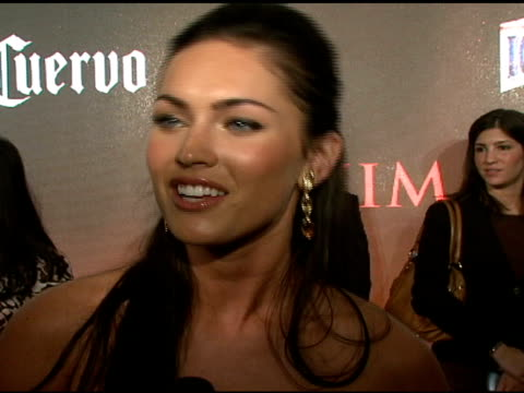 megan fox on how it feels to make her hot 100 debut and host the vh1 special on being a big fan of maxim how she would describe the magazine her... - chloe designer label stock videos and b-roll footage