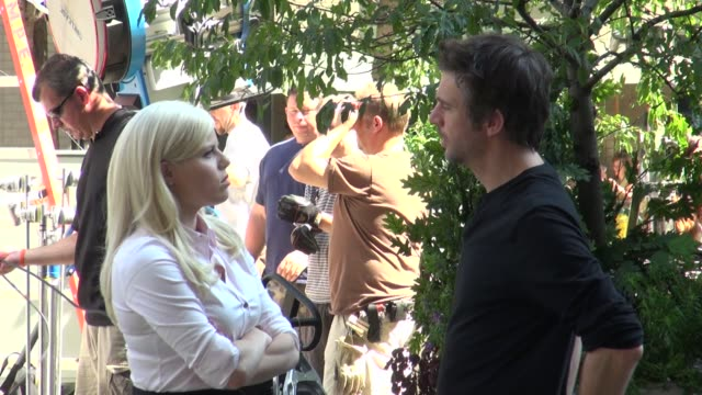 megan hilty and jack davenport on location for 'smash' megan hilty and jack davenport on location for 'sm on september 14, 2012 in new york, new york - megan hilty stock videos & royalty-free footage