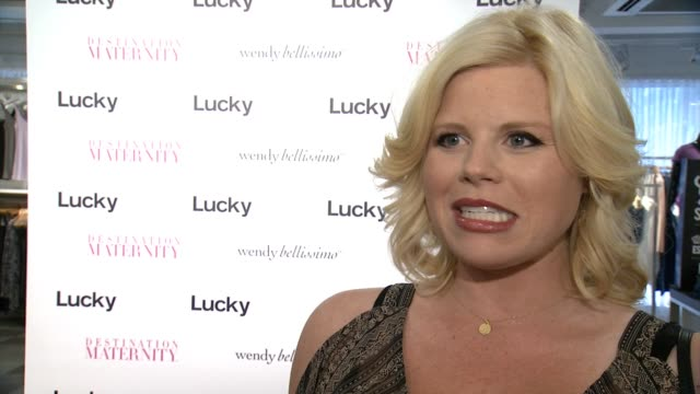 INTERVIEW Megan Hilty on what brings her out tonight On her Wendy Bellissimo outfit on her favorite pieces in the collection On Wendy's designs on...