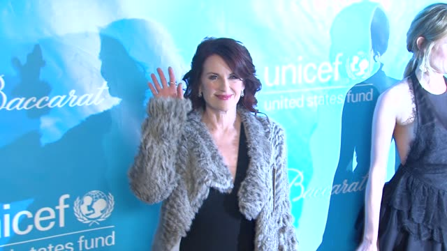 megan mullally at 2011 unicef ball presented by baccarat in los angeles ca - megan mullally stock videos and b-roll footage