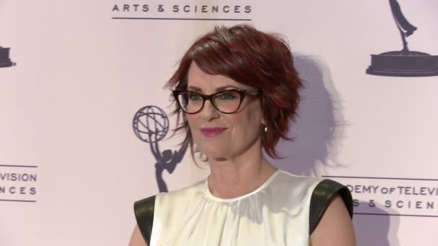 megan mullally at 2012 creative arts emmy awards press room on 9/15/2012 in los angeles ca - megan mullally stock videos and b-roll footage