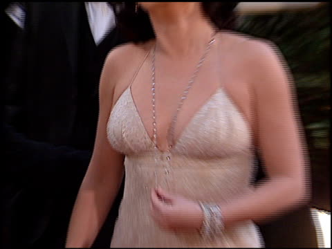 megan mullally at the 2002 golden globe awards at the beverly hilton in beverly hills california on january 20 2002 - megan mullally stock videos and b-roll footage