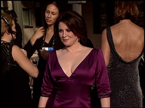 megan mullally at the 2003 screen actors guild sag awards at the shrine auditorium in los angeles california on march 9 2003 - megan mullally stock videos and b-roll footage