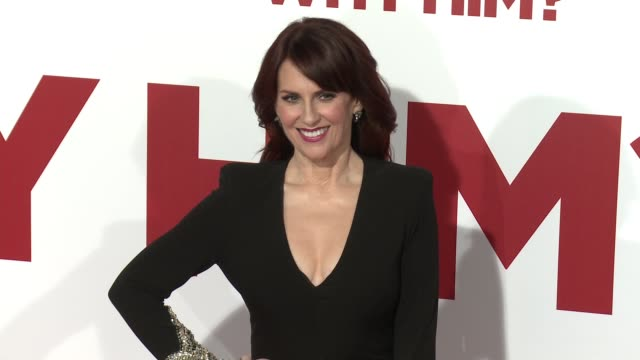 Megan Mullally at the Why Him World Premiere at Regency Bruin Theater on December 17 2016 in Westwood California
