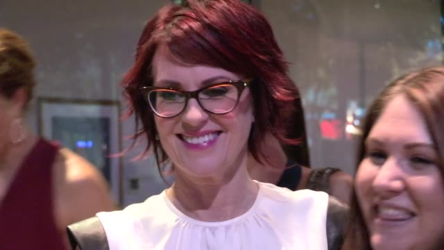 megan mullally nick offerman greet fans at the 2012 primetime creative arts emmy awards in los angeles 09/15/12 - megan mullally stock videos and b-roll footage